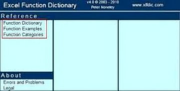 excel function dictionary 1 Belajar Fungsi Fungsi Excel dengan Excel Function Dictionary