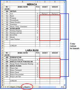 laporan keuangan 1 Tips Mudah dan Cepat Membuat Laporan Keuangan dengan Excel