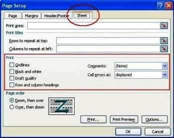 Menampilkan Unsur Lembar Kerja Excel 01
