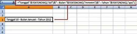Menggabung Sel Teks Formula 02