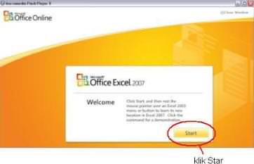 flash player excel 1 Flash Player Interaktif Menu Microsoft Office Excel 2003 to Microsoft Office Excel 2007