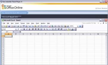 flash player excel 2 Flash Player Interaktif Menu Microsoft Office Excel 2003 to Microsoft Office Excel 2007