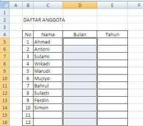 drop down list tombol daftar 2 Membuat Dropdown List atau Tombol Daftar