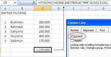 Hide Protek Excel3
