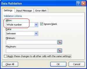 Protek Excel Angka1