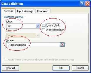 Protek Excel Teks2