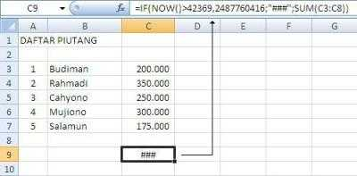 Tips Excel Expired7