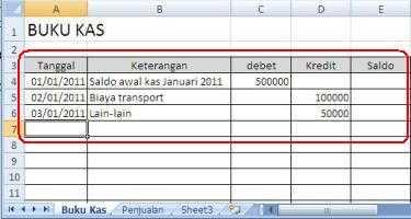 Trik Input Data4