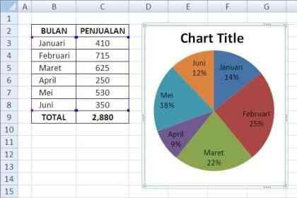 membuat grafik pie 13 Tips Membuat Grafik Pie Prosentasi